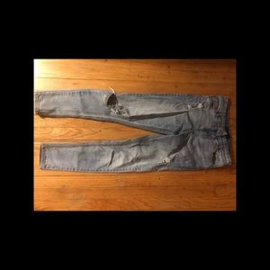 high waisted ripped Aeropostale jeans